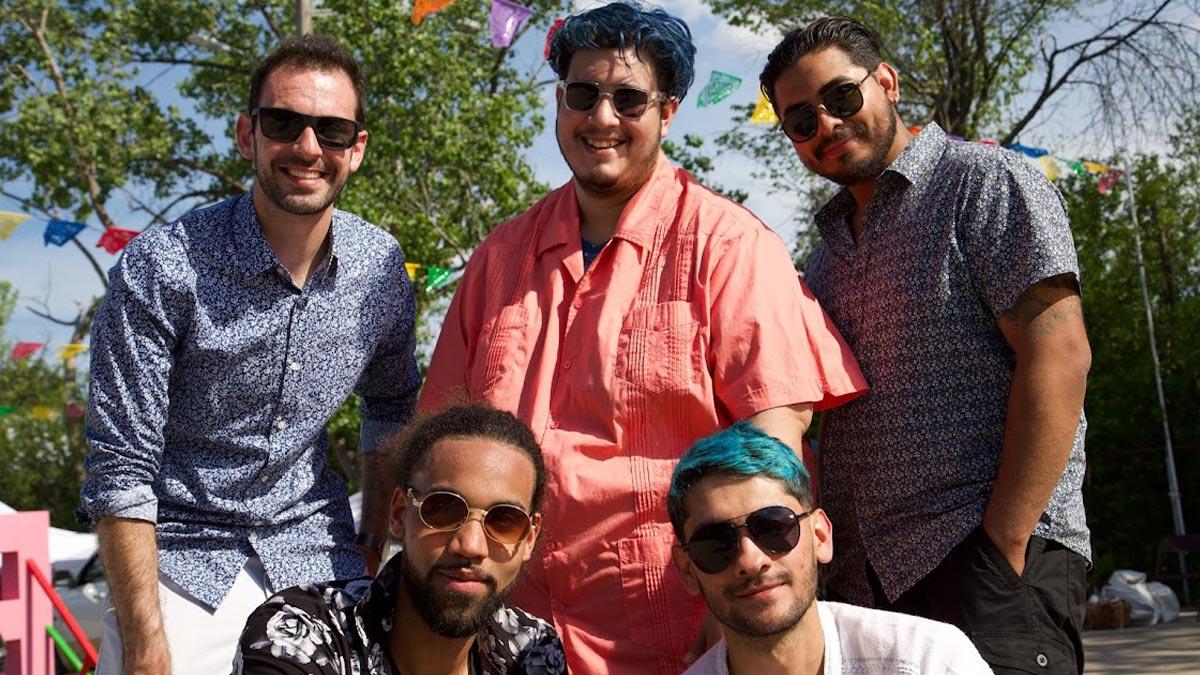 Photo of the band members from Pulpa de Guayaba