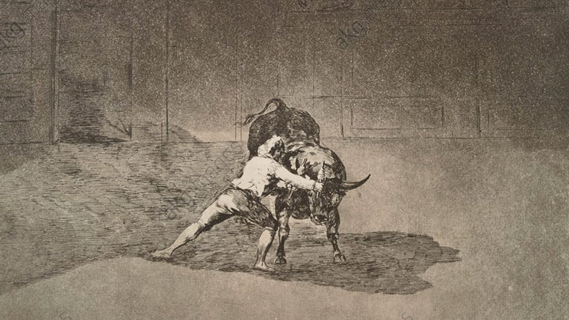 Image from Daring Technique: Goya and the Art of Etching