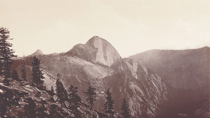 Image from Photographing Nature's Cathedrals: Carleton E. Watkins, Eadweard Muybridge, and H. H. Bennett