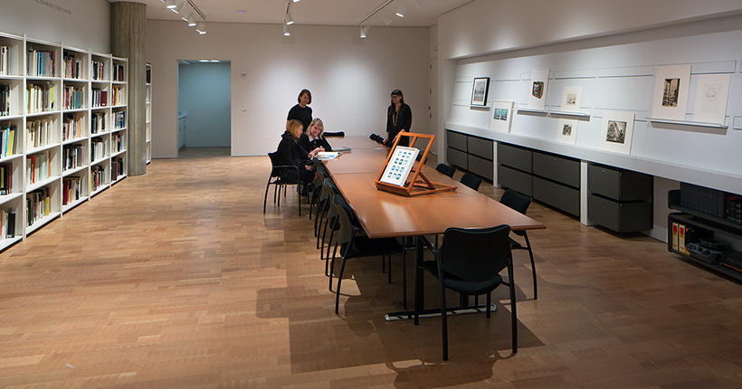 The Herzfeld Photography, Print, and Drawing Study Center at MAM