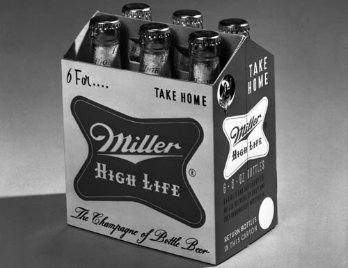 Brooks Stevens, Miller High Life Logo