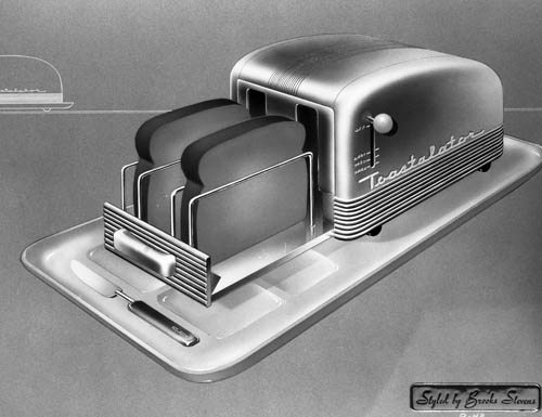 Brooks Stevens, Toaster Design