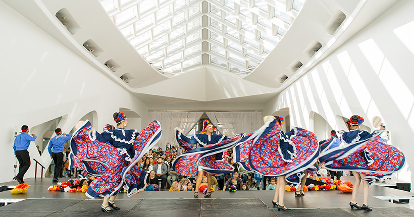Dancing Performance at MAM