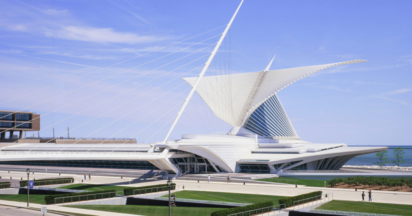 External view of the Milwaukee Art Museum