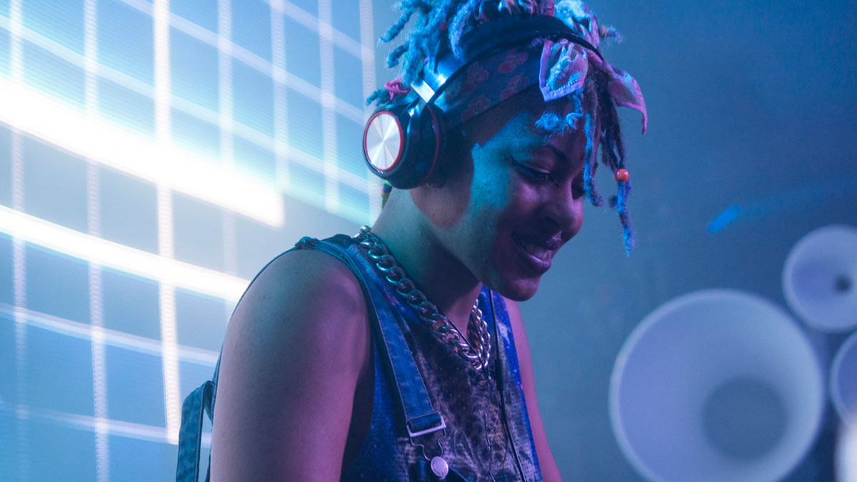 Close-up image of DJ Dripsweat