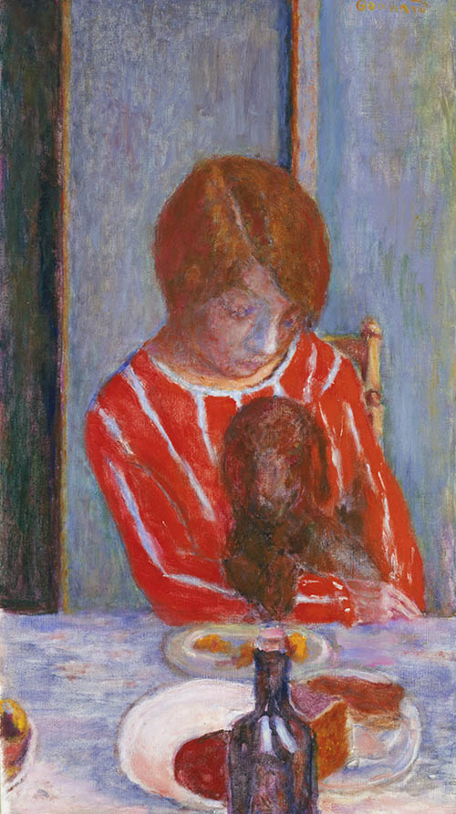 Pierre Bonnard, Woman with Dog