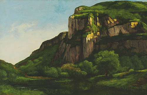 Gustave Courbet, Rocks at Mouthier