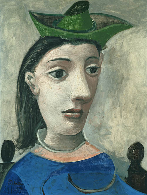 Pablo Picasso, Woman with Green Hat