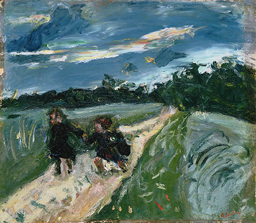 Chaim Soutine, Return from School After the Storm