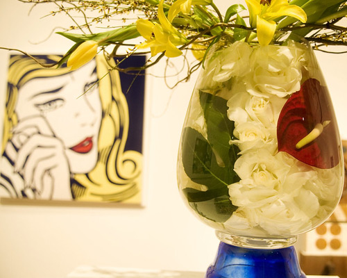 Image from Art in Bloom: A Tribute to Art and Flowers