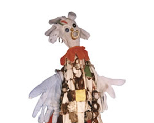 Image from Stories to Tell and Retell: The Puppets of Ashley Bryan