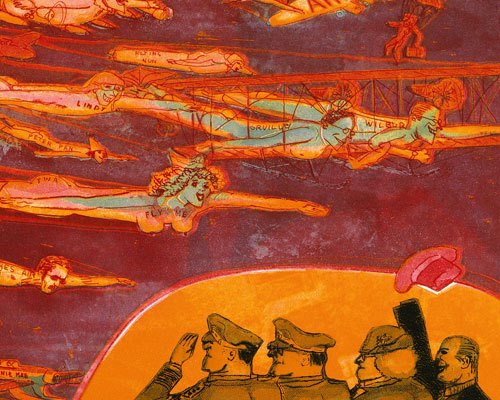 Image from Warrington Colescott Prints and Watercolors: A Brief History