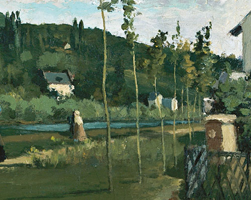 Image from Pissarro: Creating the Impressionist Landscape