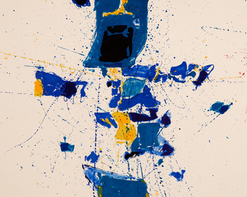 Image from Sam Francis: Master Printmaker