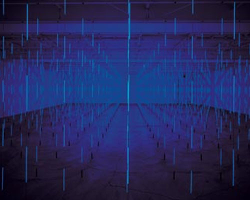 Image from Sensory Overload: Light, Motion Sound and the Optical in Art since 1945