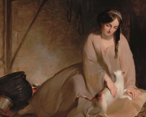 Image from Thomas Sully: Painted Performance