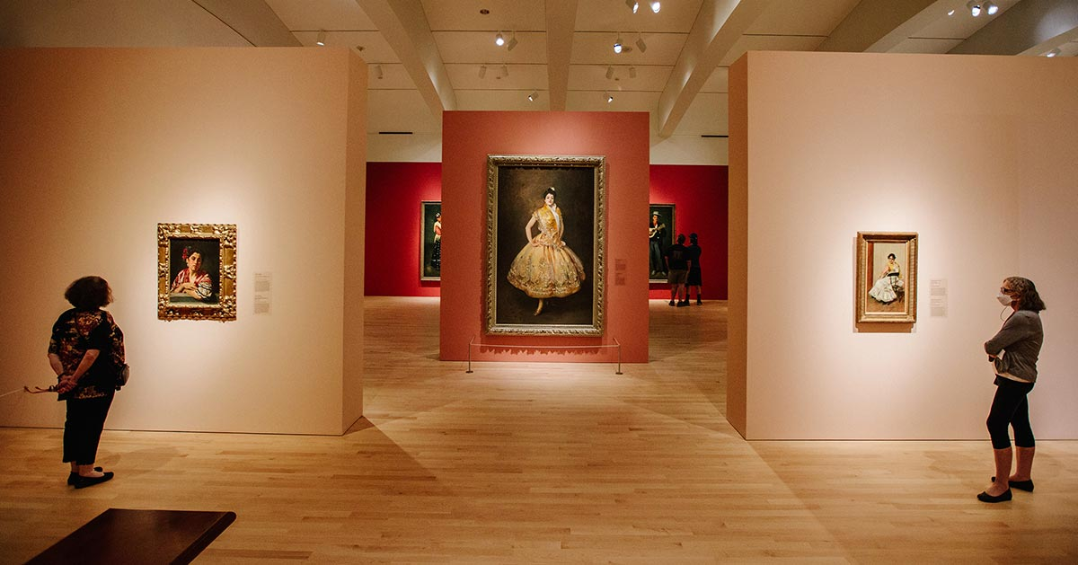 Americans in Spain: Painting and Travel, 1820–1920   Journey to Spain and explore the early influence of its art and culture on American painting.