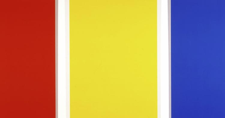 Artwork: Ellsworth Kelly, Red, Yellow, Blue II