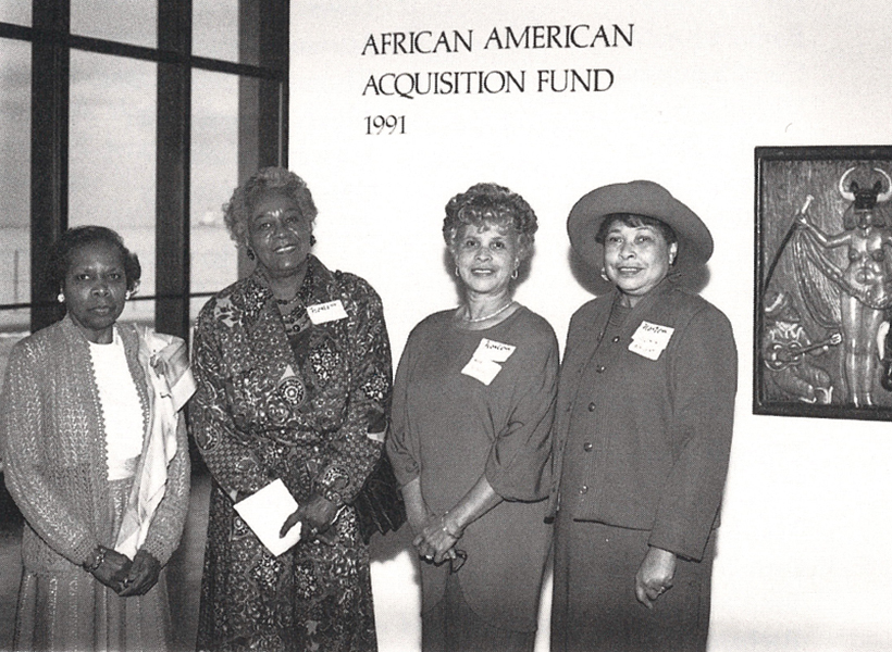 Historical image of the African American Art Alliance
