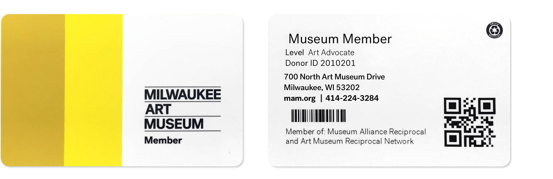 Image: Membership cards